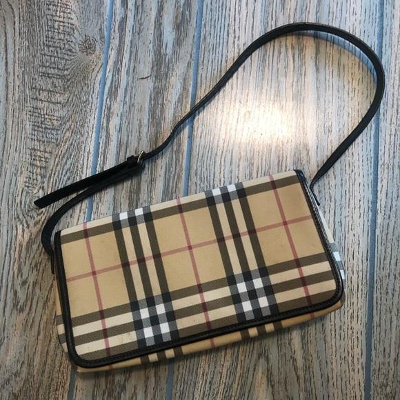 💚Vintage Burberry Nova Check bag